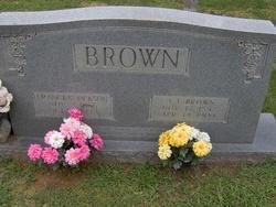 Frances <i>Jackson</i> Brown