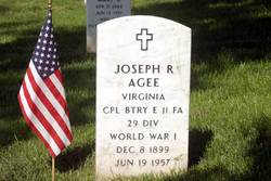Joseph R Agee
