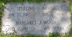 Margaret J Banta
