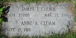 James T Clemm