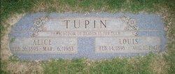Alice Trudy <i>Chowning</i> Tupin