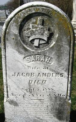 Sarah <i>Shank</i> Anders