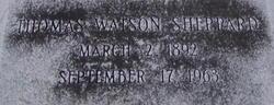 Thomas Watson Sheppard