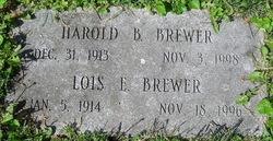 Harold B Brewer
