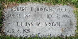 Robert E Brown