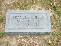Frances L. Best