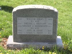 Emeline C. <i>Bronson</i> Adams