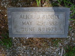 Alice <i>Johnson</i> Biddix