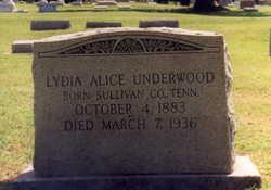 Lydia Alice Attie <i>Neluss</i> Underwood