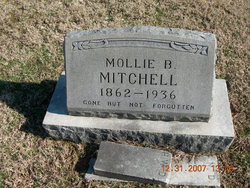 Mary B. Mollie <i>Scates</i> Mitchell