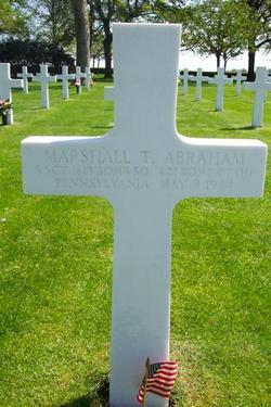 SSgt Marshall T Abraham