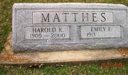 Harold Carl Matthes