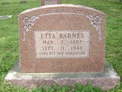 Etta <i>Smith</i> Barnes