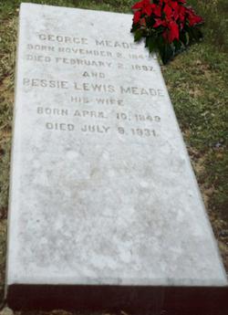 Elizabeth Morris Bessie <i>Lewis</i> Meade