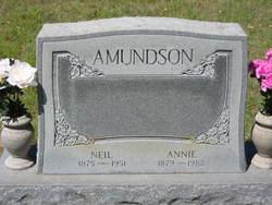 Annie <i>Dahl</i> Amundson