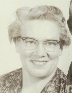 Gertrude Pearl Gertie <i>Evans</i> Wetzel