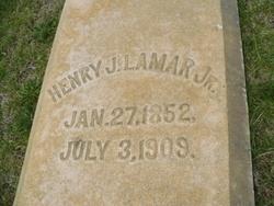 Henry James Lamar, Jr