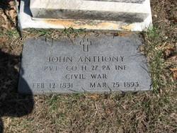 Pvt John Anthony