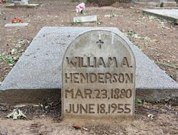 William Albert Henderson