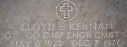 Lloyd E Kernan