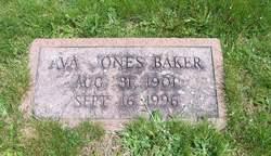 Ava <i>Jones</i> Baker