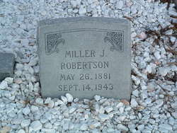 Miller Jefferson Robertson