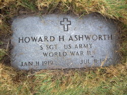 Sgt Howard Hugh Ashworth