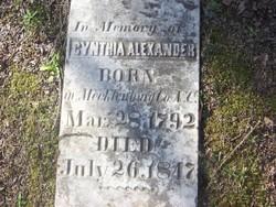 Cynthia <i>Morrison</i> Alexander