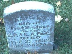 Kate M. <i>Fonda</i> Bradway
