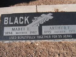 Mabel Emma <i>Van Marter</i> Black