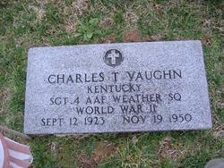 Sgt Charles Thomas Vaughn