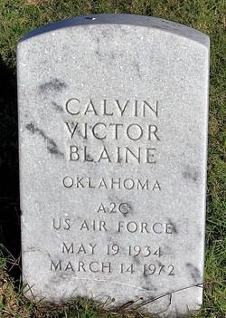 Calvin Victor Blaine