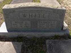 Frances E <i>Brown</i> White