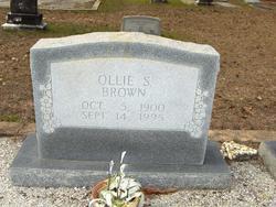 Ollie S Brown