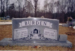 Billy Wayne Burden