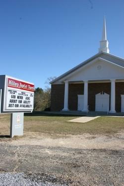 Military Baptist Church Cemetery