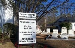 Capers Chapel United Methodist Church Cemetery