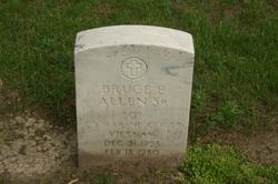 Sgt Bruce E. Allen, Sr