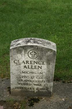Pvt Clarence E. Allen
