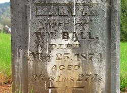 Mary A <i>Davis</i> Ball
