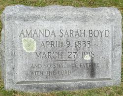 Amanda Sarah Boyd