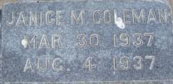 Janice M Coleman