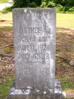 Ethel <i>Burns</i> Adams