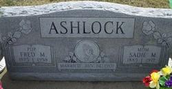 Sadie May <i>Sharp</i> Ashlock