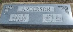 Lola Pearl <i>Andrew</i> Anderson
