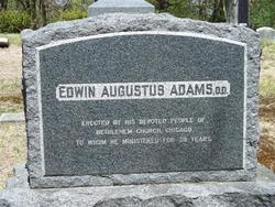 Rev Edwin Augustus Adams