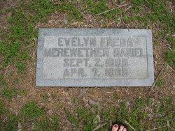 Evelyn Freda <i>Merewether</i> Daniel