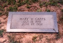 Mary Viola Eve <i>Parson</i> Capps
