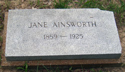 Martha Jane <i>Archer</i> Ainsworth