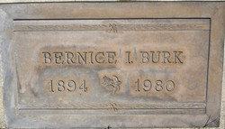 Bernice Irene <i>Johnson</i> Burk